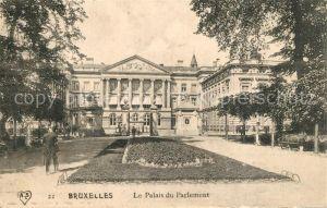 AK / Ansichtskarte Bruxelles_Bruessel Palais du Parlement Bruxelles_Bruessel