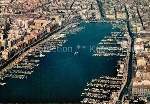 AK / Ansichtskarte Marseille_Bouches du Rhone Vue aerienne du Vieux Port Marseille