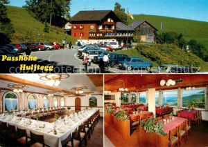 AK / Ansichtskarte Muehlrueti Passhoehe Hulftegg Restaurant Gasthaus Festsaal Muehlrueti