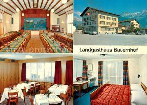 AK / Ansichtskarte Altdorf_UR Landgasthaus Bauernhof Restaurant Festsaal Fremdenzimmer Altdorf_UR