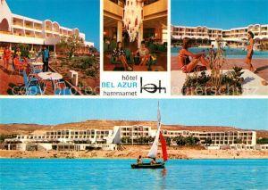 AK / Ansichtskarte Hammamet Hotel Bel Azur Strand Swimming Pool Hammamet
