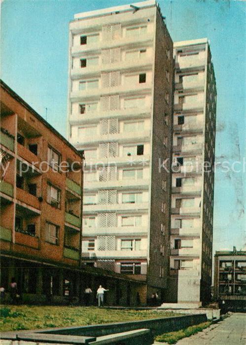 AK / Ansichtskarte Lodz Fragment osiedla mieeszkaniowego im Wadyslawy Bytomskiej Lodz