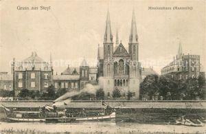 AK / Ansichtskarte Steyl Missionshaus Maaspartie Steyl