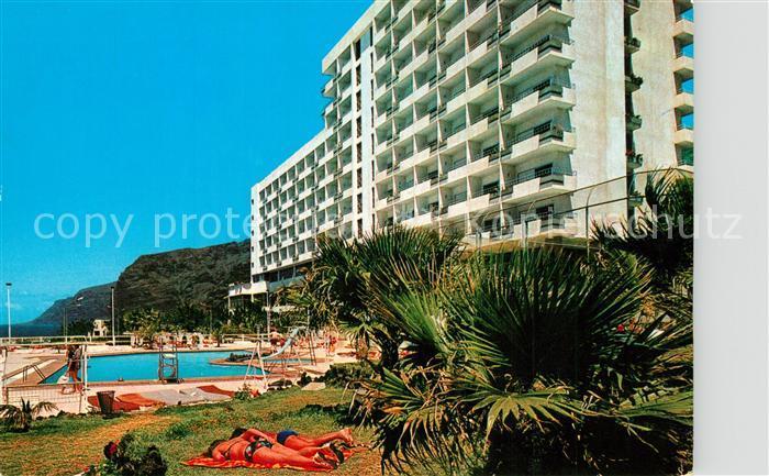 AK / Ansichtskarte Los_Gigantes_Santiago_del_Teide Hotel Los Gigantes Swimming Pool Los_Gigantes