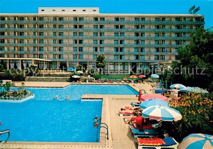 AK / Ansichtskarte Gran_Canaria Hotel Costa Canaria Swimming Pool Gran Canaria