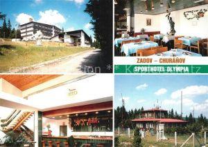 AK / Ansichtskarte Churanov Sporthotel Olympia Restaurant Bar Churanov
