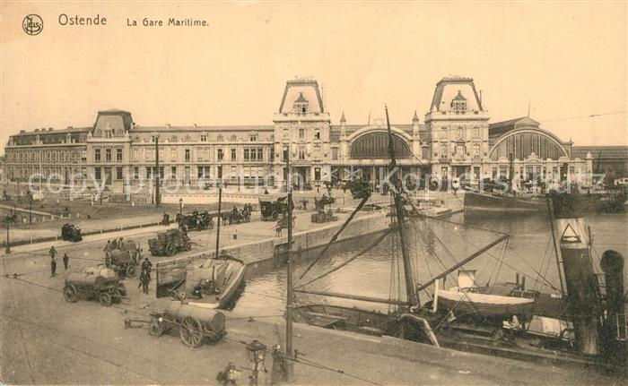AK / Ansichtskarte Ostende_Oostende La Gare Maritime