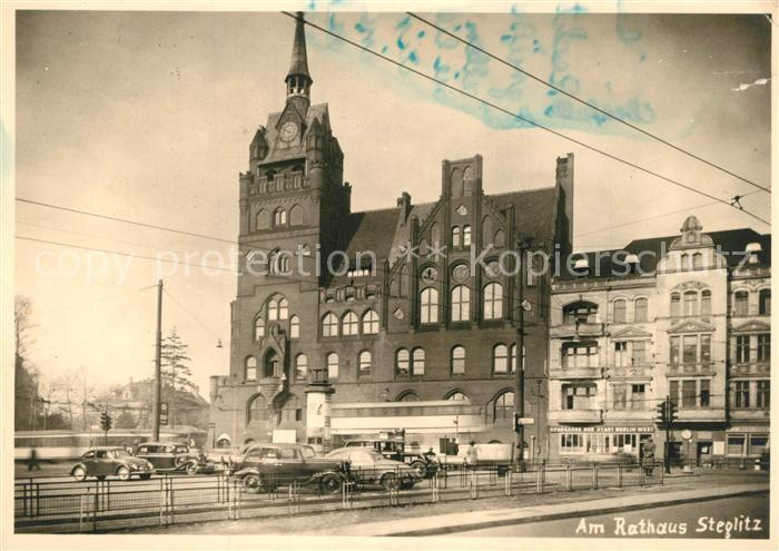 AK / Ansichtskarte Steglitz Rathaus Steglitz