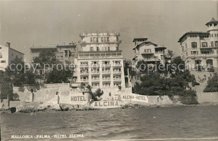 AK / Ansichtskarte Palma_de_Mallorca Hotel Alcina Palma_de_Mallorca