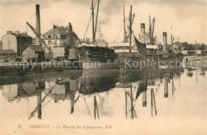 AK / Ansichtskarte Lorient_Morbihan_Bretagne Le Bassin du Commerce Lorient_Morbihan_Bretagne