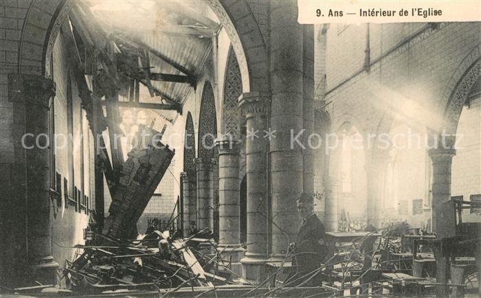 AK / Ansichtskarte Ans Interieur de l Eglise Ans