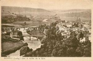 AK / Ansichtskarte Diekirch Fliegeraufnahme avec la vallee de la Sure Diekirch