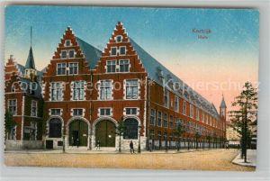 AK / Ansichtskarte Kortrijk_West Vlaanderen Halle Kortrijk_West Vlaanderen