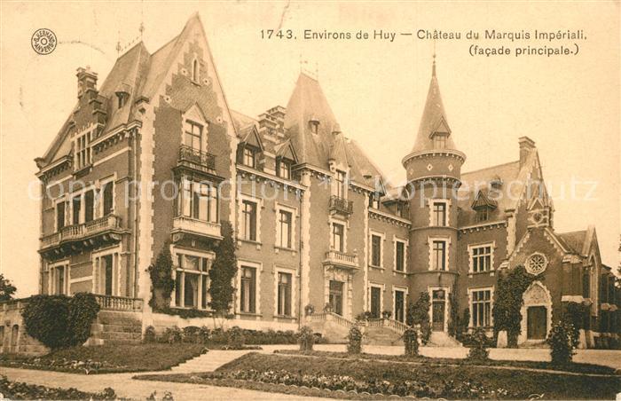 AK / Ansichtskarte Huy_Liege Chateau de Marquis Imperiali Huy_Liege