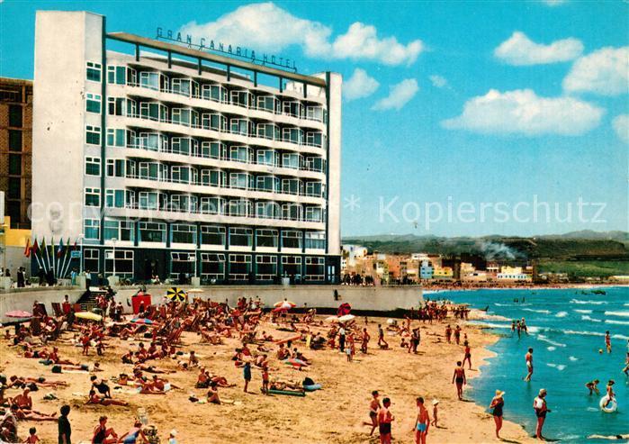 AK / Ansichtskarte Las_Palmas_Gran_Canaria Gran Canaria Hotel Strand Las_Palmas_Gran_Canaria