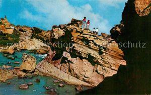 AK / Ansichtskarte Yehliu Coast Rock formations