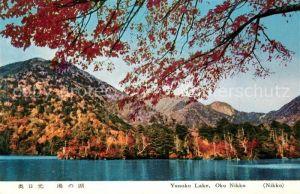 AK / Ansichtskarte Nikko Yunoko Lake Oku Nikko Landschaftspanorama Nikko