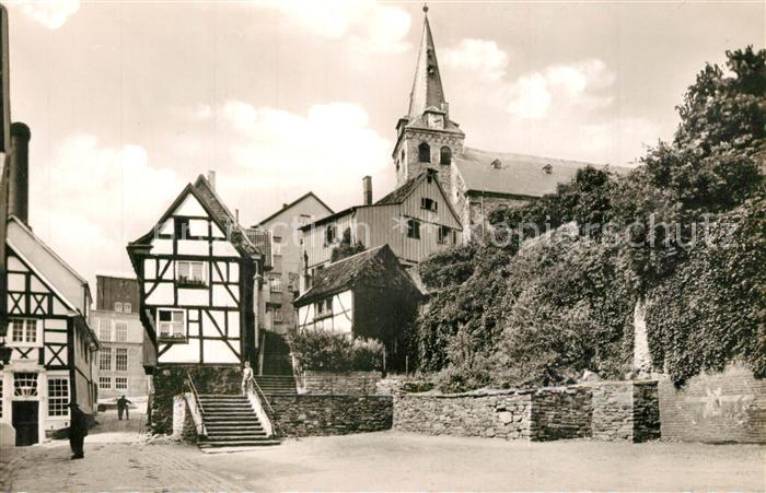 AK / Ansichtskarte Kettwig Kirche Alt Kettwig Kettwig