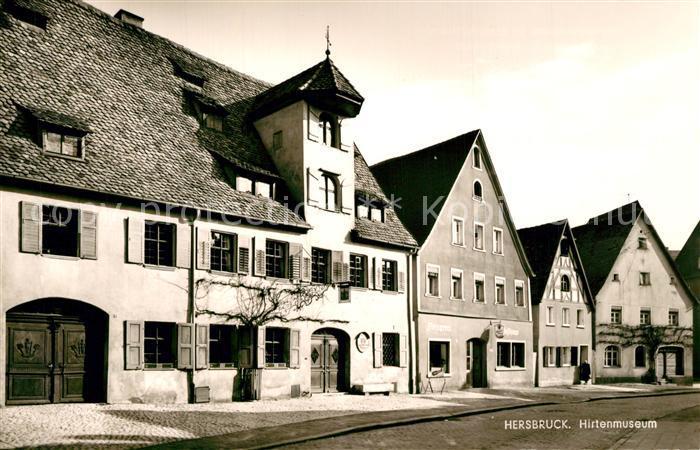 AK / Ansichtskarte Hersbruck Hirtenmuseum Hersbruck 0