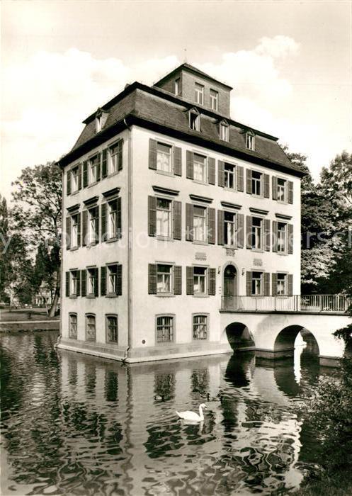 AK / Ansichtskarte Frankfurt_Main Museum Vor und Fruehgeschichte Holzhausenpark Frankfurt Main 0