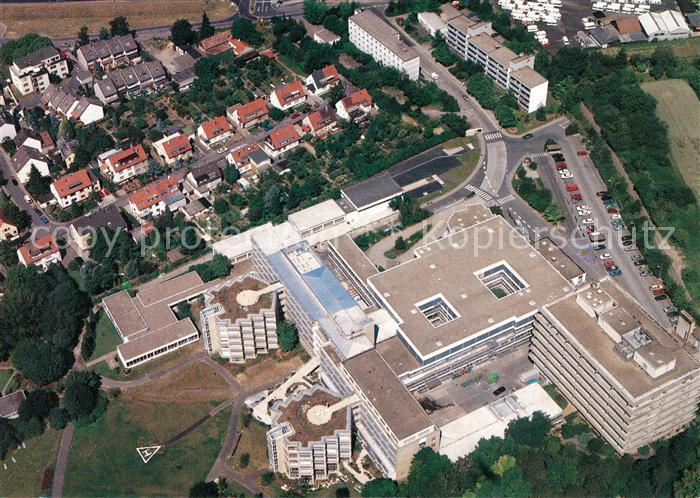 AK / Ansichtskarte Frankfurt_Main Fliegeraufnahme Krankenhaus Frankfurt Main 0