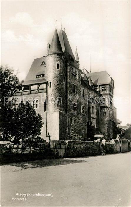 AK / Ansichtskarte Alzey Schloss Trinks Postkarte Alzey 0