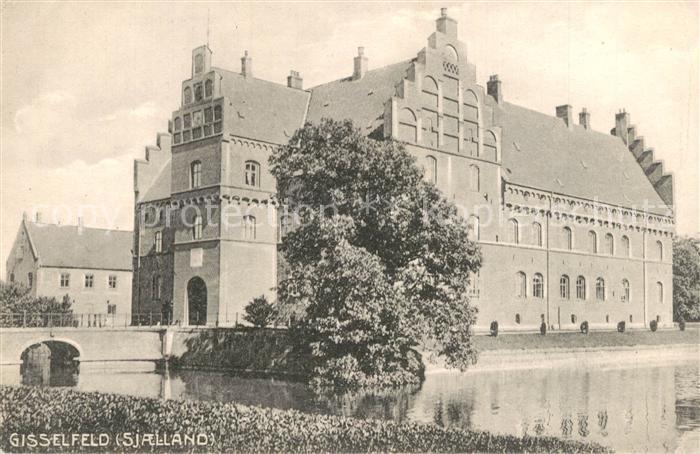 AK / Ansichtskarte Gisselfeld Schloss Gisselfeld