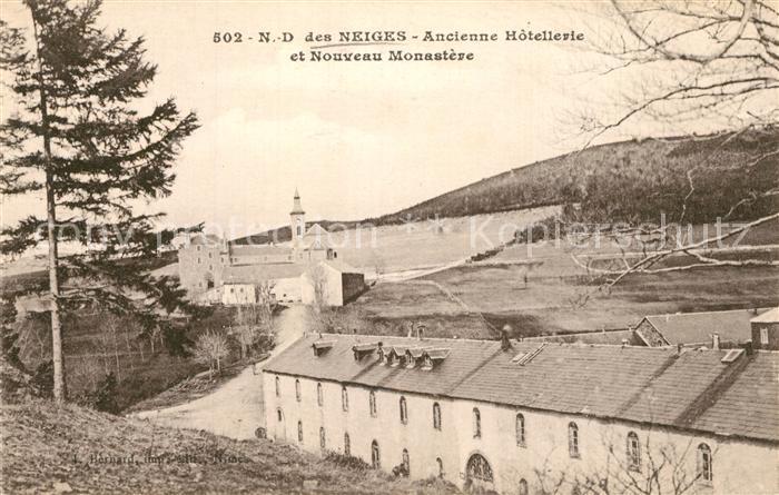 AK / Ansichtskarte Neiges Monastere Notre Dame Neiges