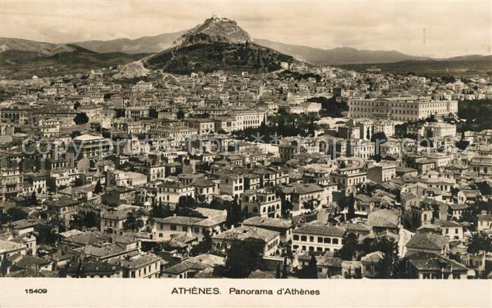 AK / Ansichtskarte Athenes_Athen Panorama Athenes Athen 0