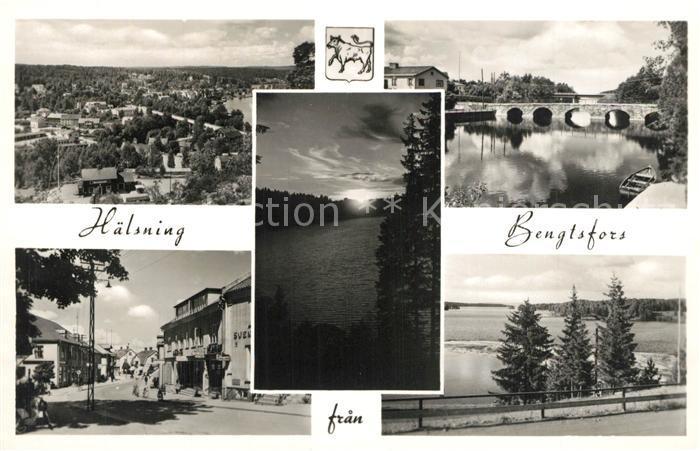 AK / Ansichtskarte Bengtsfors Stadtansichten Panorama Bengtsfors 0
