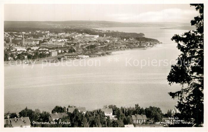 AK / Ansichtskarte oestersund Panorama oestersund