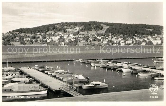 AK / Ansichtskarte oestersund Bathamnen oestersund