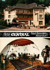 AK / Ansichtskarte Bad_Sooden Allendorf Hotel Central Bad_Sooden Allendorf