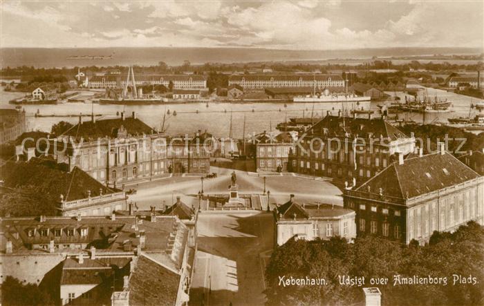 AK / Ansichtskarte Kobenhavn Amalienborg Plads Kobenhavn