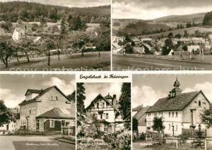AK / Ansichtskarte Engelsbach Ferienheim Franziska Ortsansicht Gasthaus Zum Paradies Dorfstrasse Engelsbach