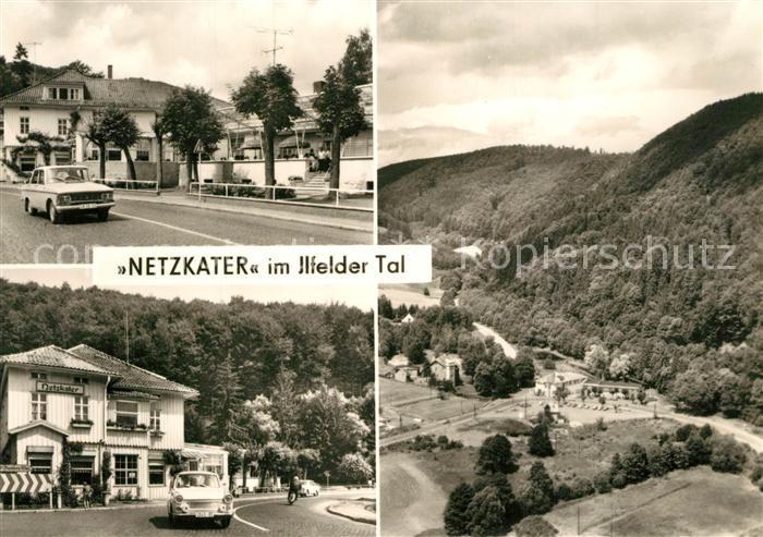 AK / Ansichtskarte Ilfeld_Suedharz Netzkater im Ilfelder Tal  Ilfeld Suedharz