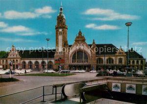 AK / Ansichtskarte Krefeld Hauptbahnhof Krefeld