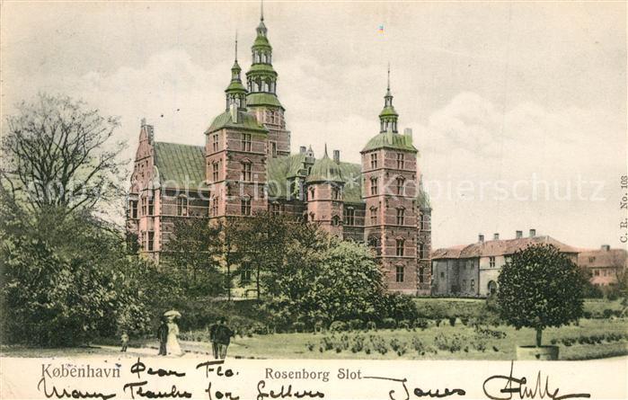 AK / Ansichtskarte Kobenhavn Rosenborg Slot Kobenhavn