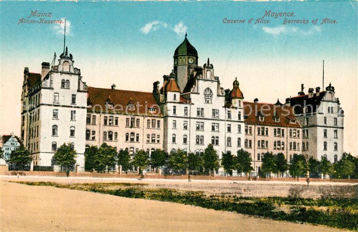 AK / Ansichtskarte Mainz_Rhein Alicen Kaserne Mainz Rhein