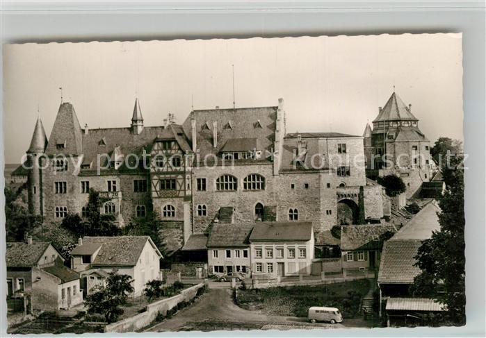 AK / Ansichtskarte Alzey Schloss Alzey
