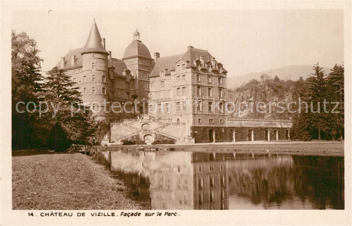 AK / Ansichtskarte Vizille Chateau de Vizille Facade sur le Parc Vizille