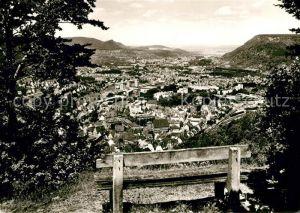 AK / Ansichtskarte Geislingen_Steige Blick ins Tal auf die Stadt Geislingen_Steige