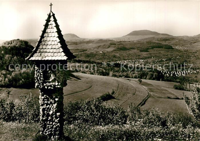 AK / Ansichtskarte Donzdorf Bildstock auf der Kuchalb Landschaftspanorama Schwaebische Alb Donzdorf