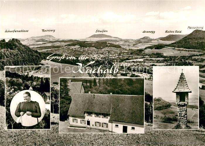 AK / Ansichtskarte Donzdorf Gasthaus zur Mutter Franzel Bildstock Landschaftspanorama Schwaebische Alb Bromsilber Donzdorf