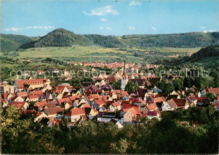 AK / Ansichtskarte Donzdorf Panorama Schwaebische Alb Donzdorf