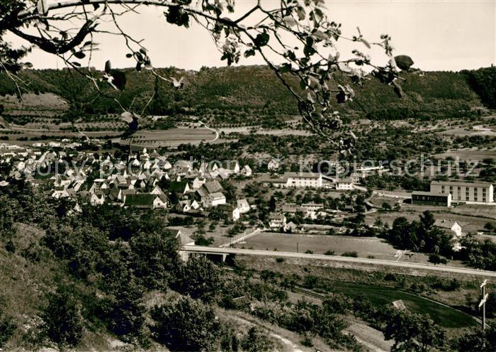 AK / Ansichtskarte Bad_ueberkingen Panorama Blick ins Tal Bad_ueberkingen