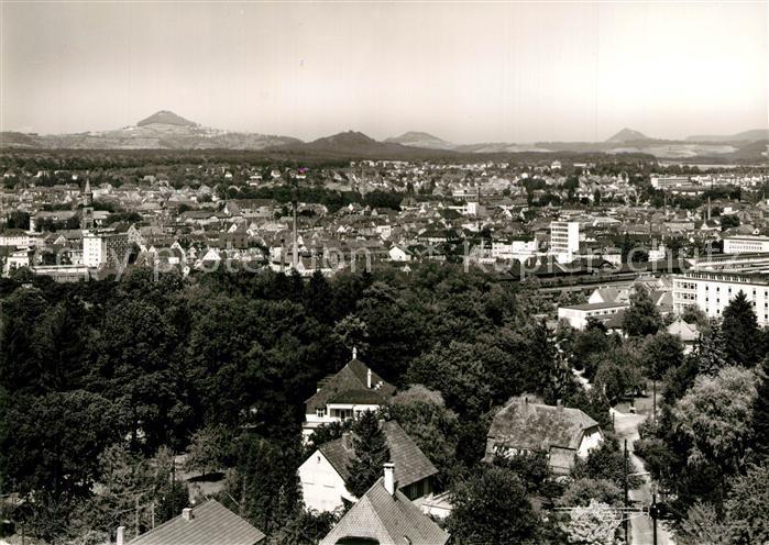 AK / Ansichtskarte Goeppingen Stadtpanorama mit den Kaiserbergen Hohenstaufen Hohenrechberg Stuifen Goeppingen