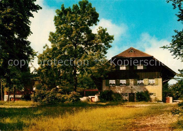 AK / Ansichtskarte Goeppingen Wasserberghaus des Schaebischer Albvereins Goeppingen