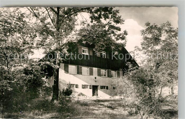 AK / Ansichtskarte Goeppingen Wasserberghaus des Schwaebischen Albvereins Goeppingen