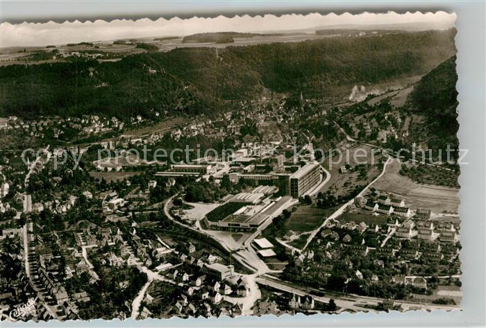 AK / Ansichtskarte Geislingen_Steige Fuenftaelerstadt Fliegeraufnahme Geislingen_Steige
